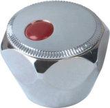 Maneta de grifo del plástico del ABS con el final del cromo (JY-3002)