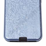 2 dans 1 caisse hybride de téléphone pour le PC du cas TPU de couverture de l'iPhone 7