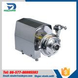 Pompe centrifuge de couverture ronde d'hygiène d'acier inoxydable
