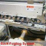 Automatische 4/6 Eckkasten-Faltblatt Gluer Maschine (WO-750PC-R)