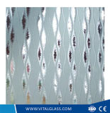 4-6mmの装飾の曇らされたガラス芸術のまたは酸は芸術ガラスをエッチングした