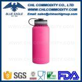 Sin BPA FDA grado de vacío en el frasco revestido de polvo de color