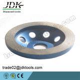 화강암과 대리석 공구를 위한 Jdk 다이아몬드 갈거나 또는 거친 닦는 컵 바퀴