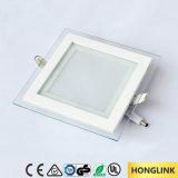 Luminária de painel de LED de tecto embutida superior 18W com Ce RoHS