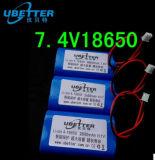 18.5V 2200mAh nachladbarer Lithium-Ionenbatterie-Satz für E-Hilfsmittel