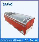 최고 유리제 문 판매를 위한 2 미터 해산물 전시 냉장고