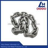 catena a maglia diritta liscia dell'acciaio inossidabile della saldatura di 6mm