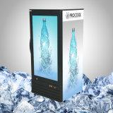 Frigorifero trasparente superiore dell'affissione a cristalli liquidi per alimento e la bevanda