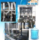 Cadena de producción del barril relleno que se lava y el capsular para 5 galones