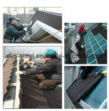 Tuiles de tuiles de toit/de toit en métal de Couleur-Pierre/type coloré tuiles Pierre-Enduites en métal