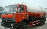 6X4 12kl 진공 탱크 트럭 하수 오물 흡입 트럭