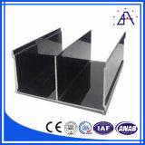Pista de aluminio de calidad superior para el guardarropa, puerta, máquina