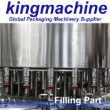 3 dans 1 machine de remplissage en plastique de l'eau de bouteille/machine d'embouteillage eau minérale