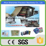 Vollautomatisches Rollenführender Papierbeutel, der Maschine herstellt