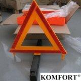 Отражательный подгонянный треугольник знака уличного движения автомобиля безопасти МНОГОТОЧИЯ логоса непредвиденный предупреждающий