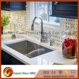 スプレーの台所Worktopsのための白い水晶石のカウンタートップ