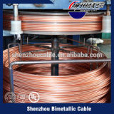 Classe esmaltada alumínio do fio Calibre de diâmetro de fios do fio do enrolamento 240 graus