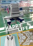 Única máquina principal do bordado para o tampão, o t-shirt e projetos lisos de Barudan do bordado
