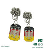 Pares de la manera Dog Tag Militar (A- 18 )