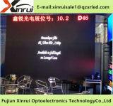 Visualización a todo color impermeable al aire libre del alto brillo de la pantalla del módulo del RGB P6 LED