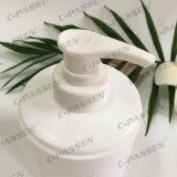 250ml Haircareの包装のためのプラスチックローションポンプを搭載する白いPEのシャンプーのびん(PPC-PB-073)