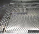 拡大された金属のグリルの鋼鉄火格子