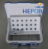 10L 쌓을수 있는 스테인리스 2-8 정도 어깨 벨트 백신 냉각기 상자