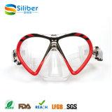 Máscara e óculos de proteção profissionais do mergulho do vidro Tempered para crianças