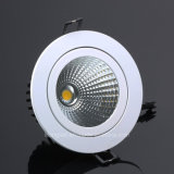 Diodo emissor de luz Recessed 18W Downlight do teto da microplaqueta do diodo emissor de luz da ESPIGA do CREE