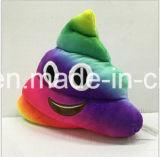 재미있은 아이 연약한 견면 벨벳 장난감 다채로운 고물 Emoji 베개