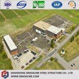 Almacén de acero certificado ISO moderno/edificio/construcción del diseño