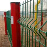 Гальванизированные изогнутые панели загородки при покрынный PVC