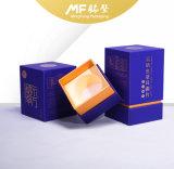Contenitore di regalo di carta tinto luminoso moderno delle derrate alimentari del cartone