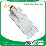 luz de rua solar do baixo preço de qualidade superior do diodo emissor de luz 15W com o tudo em um projeto