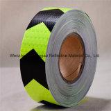 中国の工場の高い可視性PVC水晶反射物質的なテープ