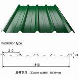 曲げられた金属の屋根ふきSheet/PPGIの波形の屋根のパネル