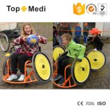 医療機器の高力アルミニウムスポーツのトレーニングのバスケットボールマニュアルの車椅子