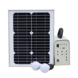 20W 옥외 홈을%s 휴대용 태양 에너지 힘 조명 시설