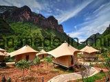 Grande tenda di lusso su ordinazione privata del baldacchino della tenda foranea della Camera dell'hotel