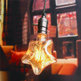 220V E27 6W Ster van de Lamp van Edison de Incandescent Filament Light Retro de Uitstekende/Bol van de Vorm van het Hart