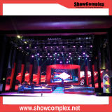 P6.25 Indoor Sterben-Casting Aluminum Cabinet LED Display Screen für Entertainment/Hotel/Market/Stage