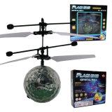 Mini sfera infrarossa dell'elicottero del ronzio di induzione con Whirly LED