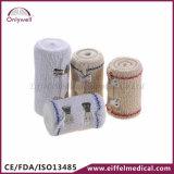 Fasciatura medica di salvataggio del Crepe Emergency del cotone