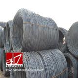 Carbono laminado a alta temperatura SAE1006 1008 de Rod de fio do aço da liga baixo