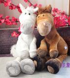 Jouet en peluche personnalisé à cheval