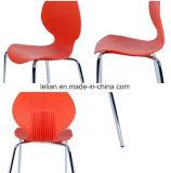 Трактир обедая стул, цветастый пластичный стул металла (LL-0016)