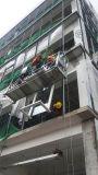 Gondole d'échafaudage de berceau d'accès de plate-forme suspendue par acier galvanisé à chaud de la CE Zlp500