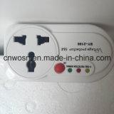 Oleada de potencia de AVS 7A 10A 16A encima bajo protección del voltaje