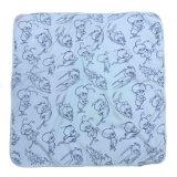 D-029極度の柔らかい赤ん坊毛布のフード付きのポンチョタオル