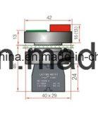 переключатель кнопка 6V-380V 22mm квадратный головной